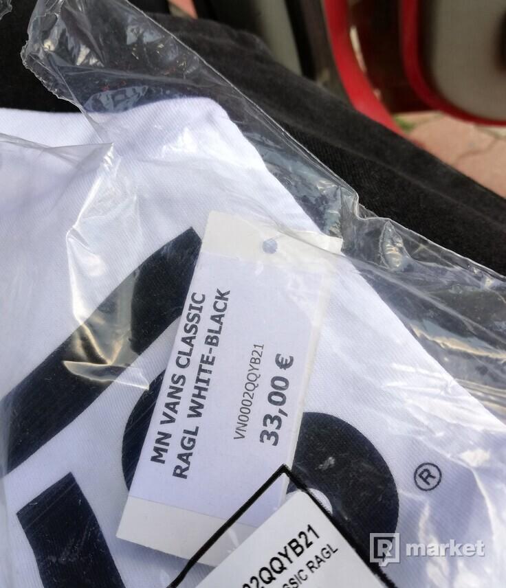 Vans classic ragl White-Black S