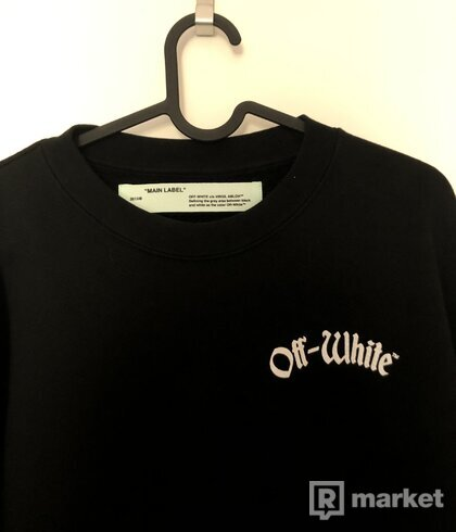 "(Off White ""Impressionism"" Crewneck (Trade)"