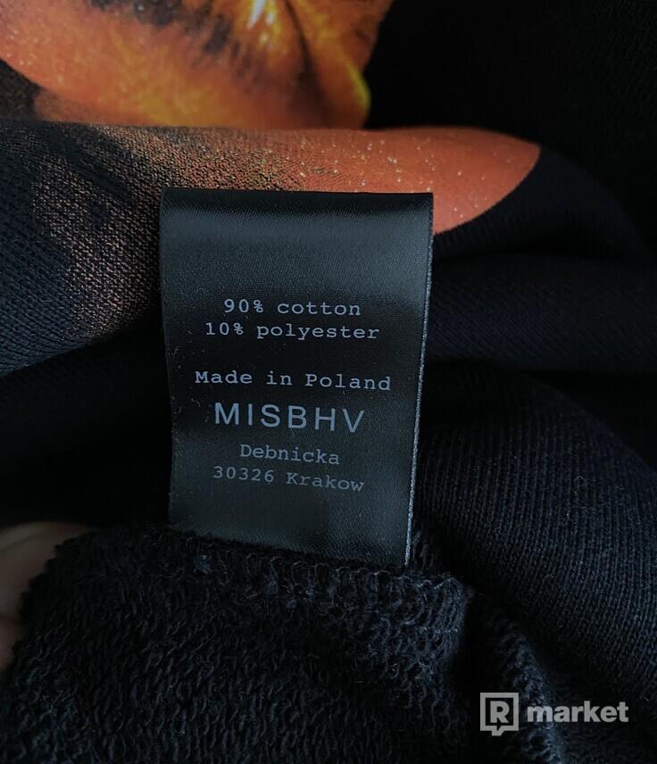 Misbhv mikina razor hoodie