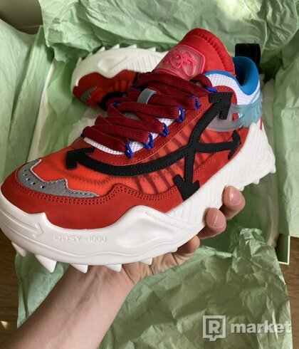 Off white ODSY- 1000 red