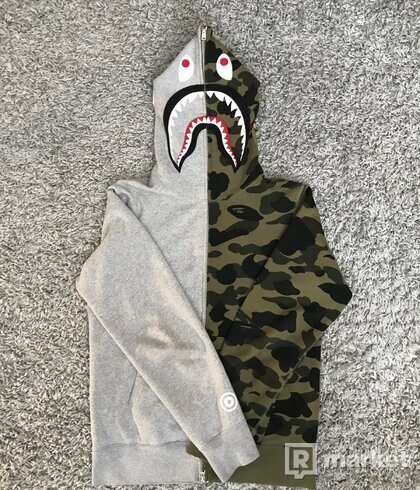 Bape Shark Hoodie Full Zip