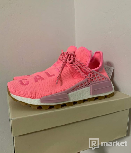 """Adidas Human Race  """"Now is her time"""" pink/pink"""