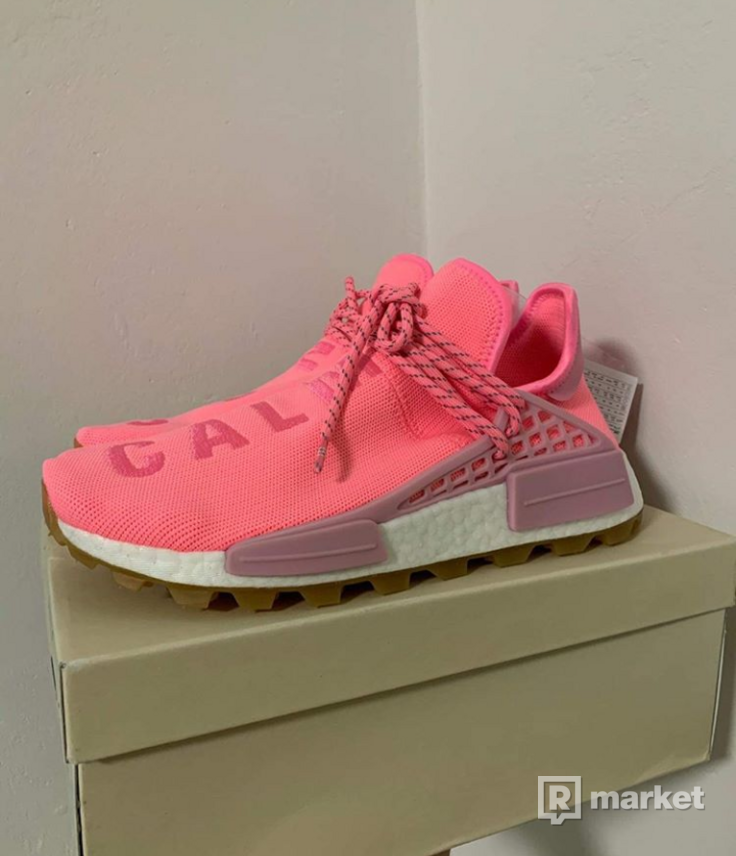 "Adidas Human Race  ""Now is her time"" pink/pink"