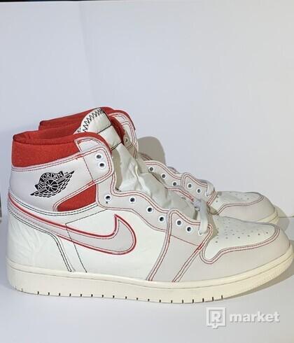 Air Jordan 1 Phantom Gym Red