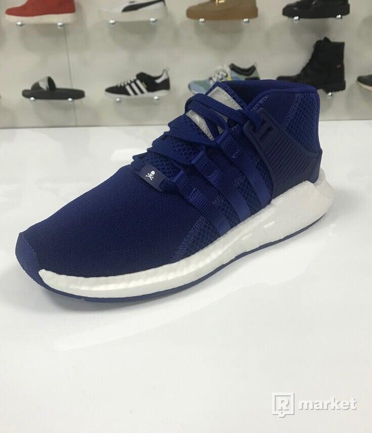 Adidas EQT 93/17 Mid x MASTERMIND JAPAN Ink Blue