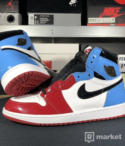 "Air Jordan Retro 1 High OG Fearless ""UNC Chicago"""