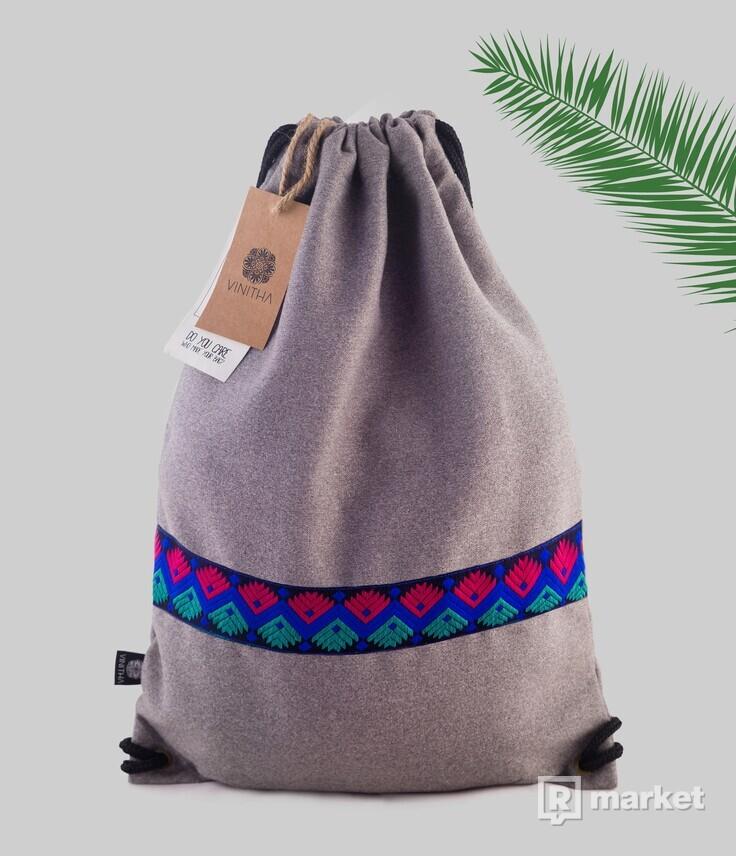 Štýlový vlnený unisex ruksak VINITHA 40