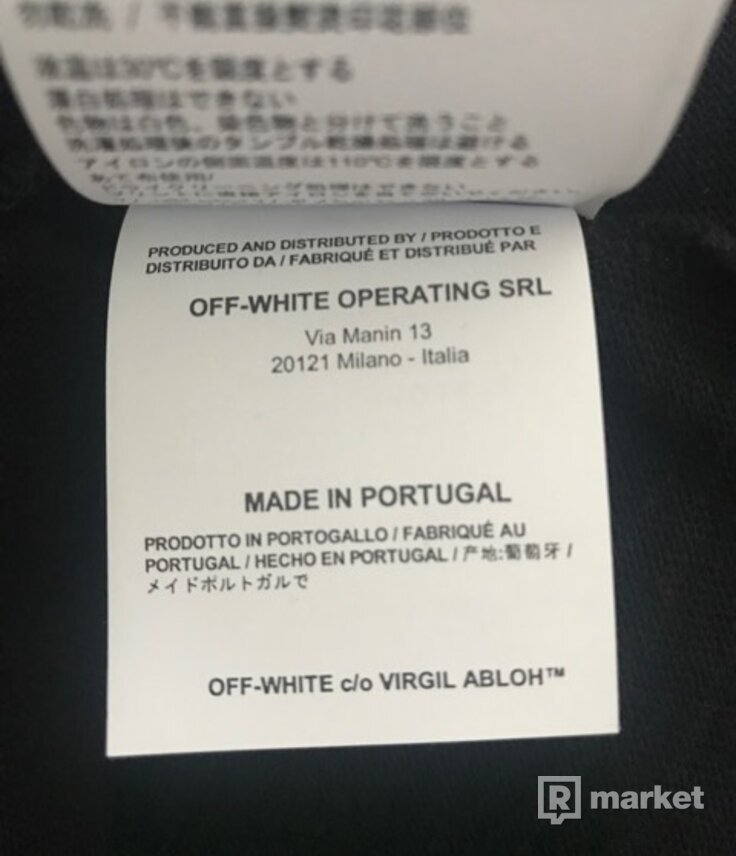 Off White Mona Lisa Temperature SS18