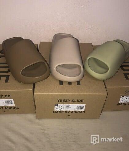 Adidas Yeezy Slide - Core/Pure/Resin
