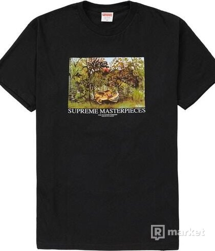 Supreme Masterpieces tee Black