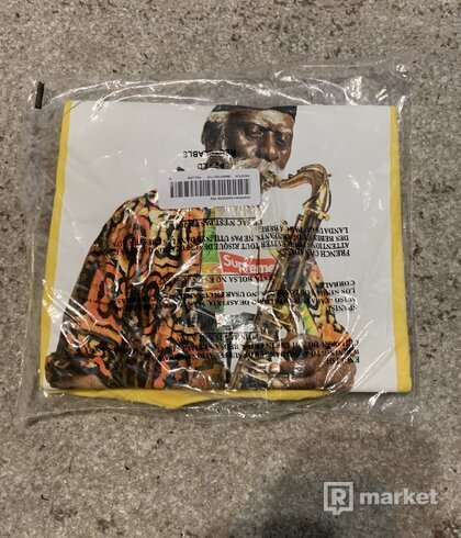 Supreme Pharaoh Sanders yellow tee