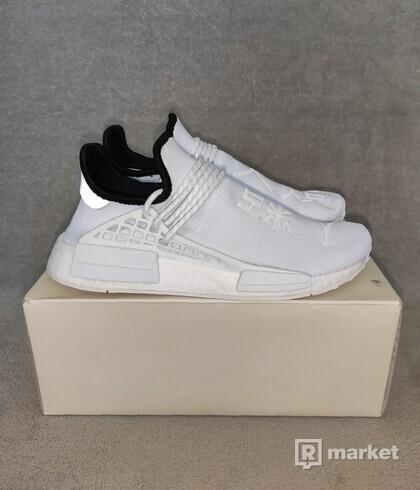 Adidas NMD Hu Pharrell white