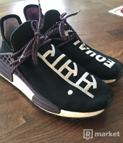 Adidas NMD x Pharrell Williams Human Race Trail Deepest Purple