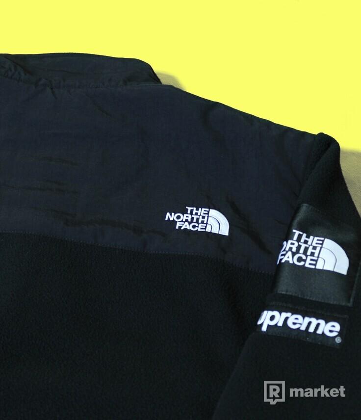 Supreme x The North Face fleece Arc logo black