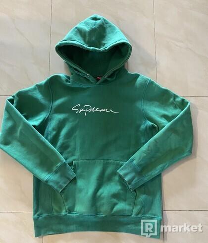 Supreme Script hoodie