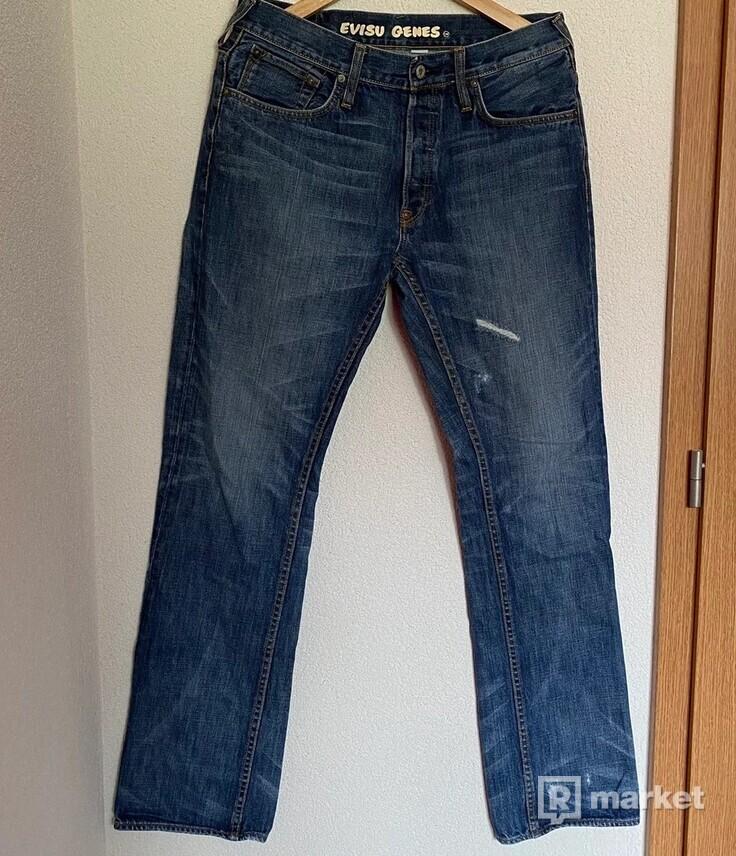 Evisu Logo jeans