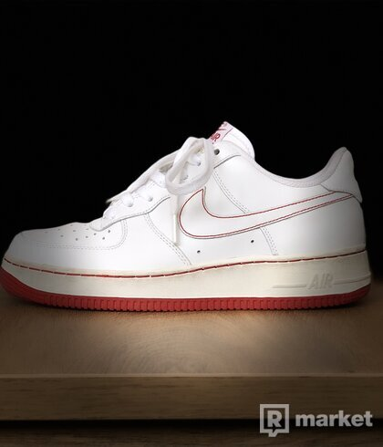 Nike Air Force 1 Low White/Varsity Red