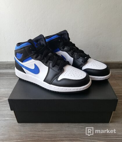 Air Jordan 1 Mid GS Royal Blue