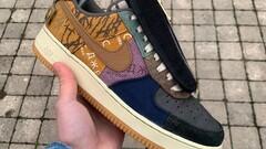"Nike Air Force 1 x Travis Scott ""Cactus jack"""