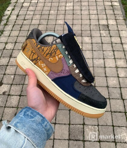 "Nike Air Force 1 x Travis Scott ""Cactus jack"""