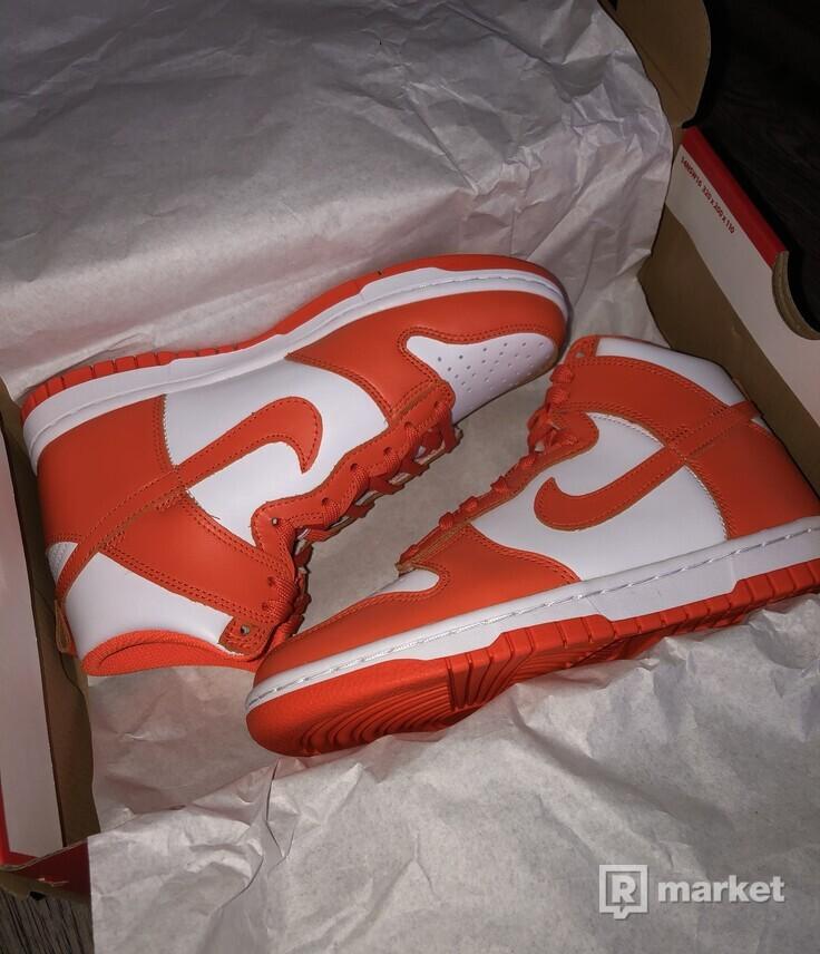 Nike Dunk High Syracuse (W)