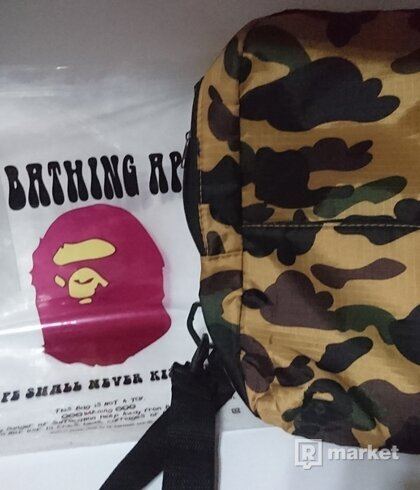 Bape camo body bag
