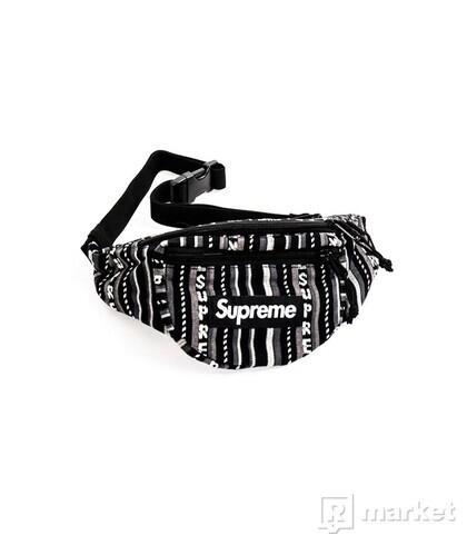Woven Stripe Waist Bag