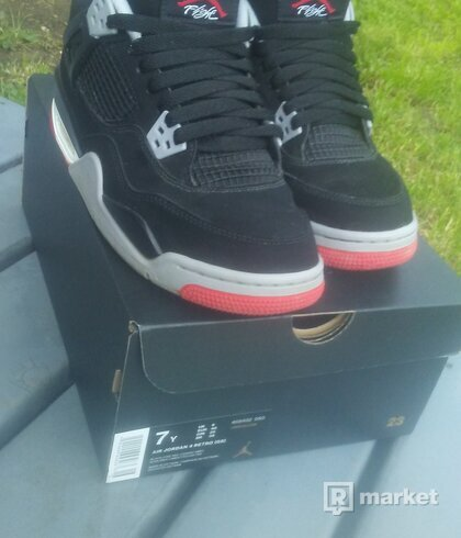 Jordan 4 black cement GS