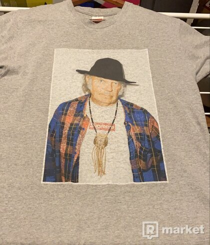 Supreme Neil Young foto tee