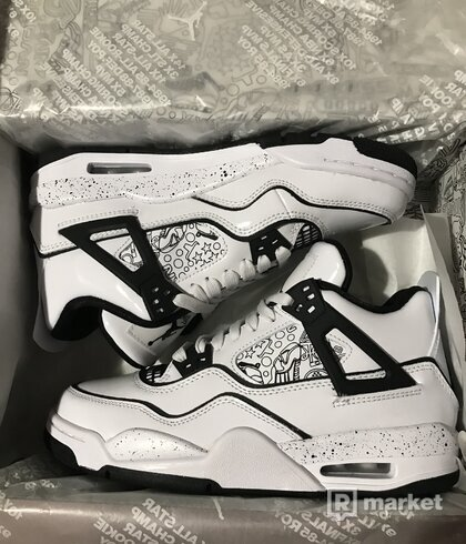 Air Jordan 4 DIY