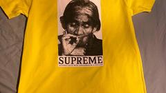 Supreme Aguila Tee yellow - FW19