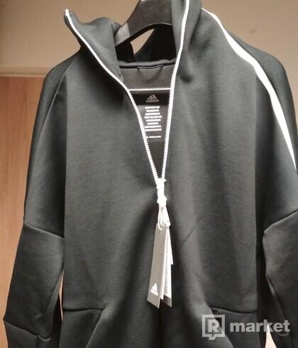 adidas mikina ZNE FR s kapucňou