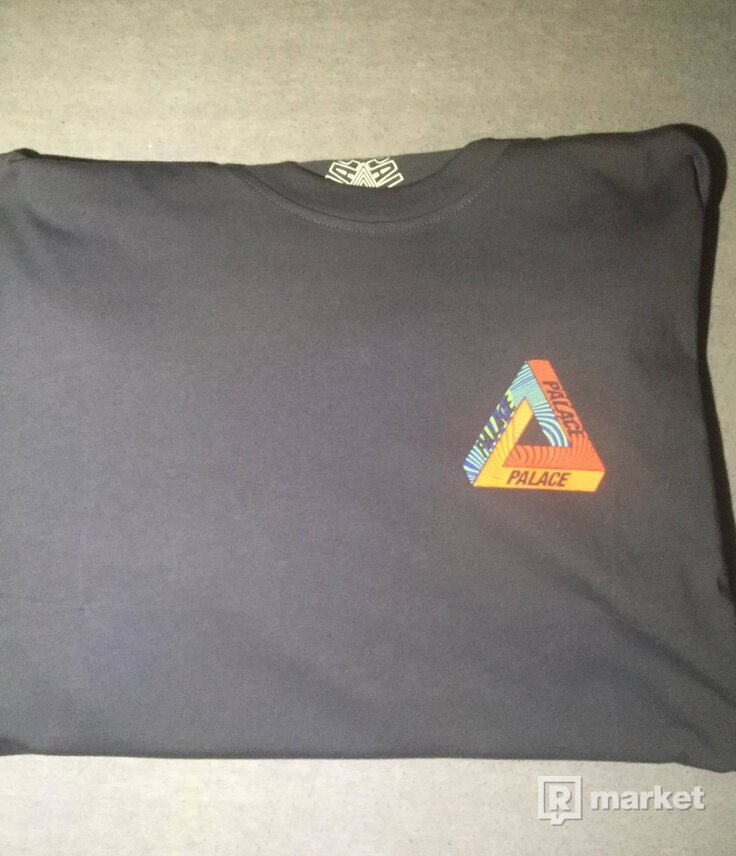 Palace Tri tex tee NAVY