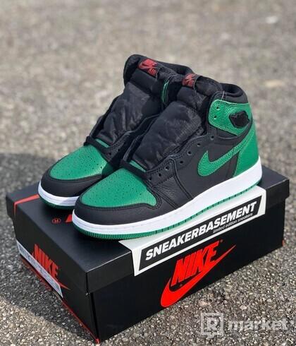 Nike Air Jordan 1 Pine Green  EU 38,5