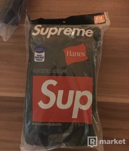 Supreme hanes briefs black