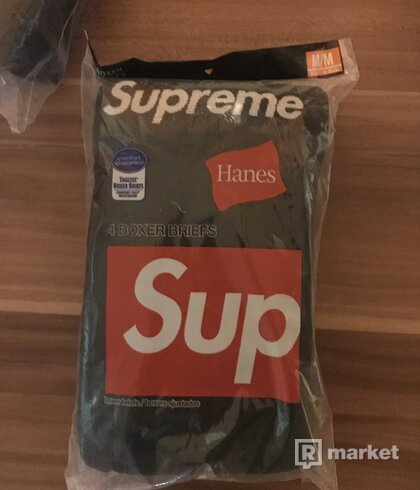 Supreme hanes briefs black