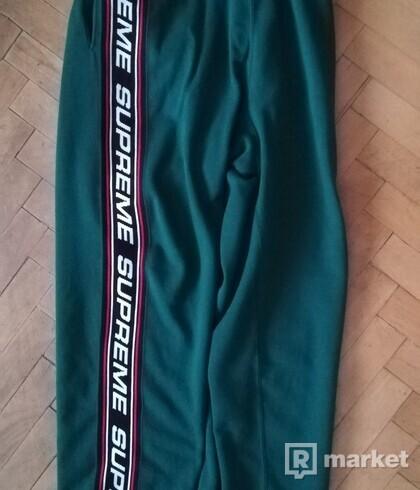 Supreme Text Rib sweatpants XL FW19