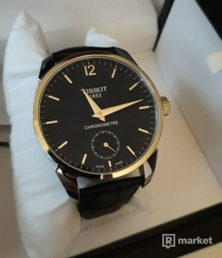 TISSOT T-COMPLICATION MECHANICAL COSC - nové luxusné hodinky ... 555ba2db5ae