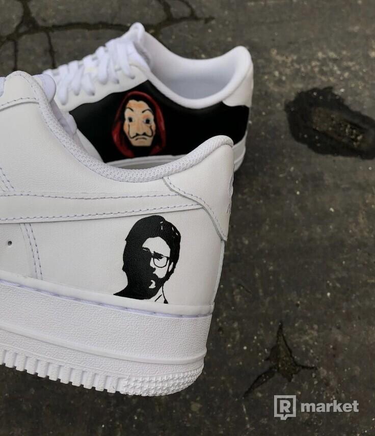 Nike AF1 Low Money heist