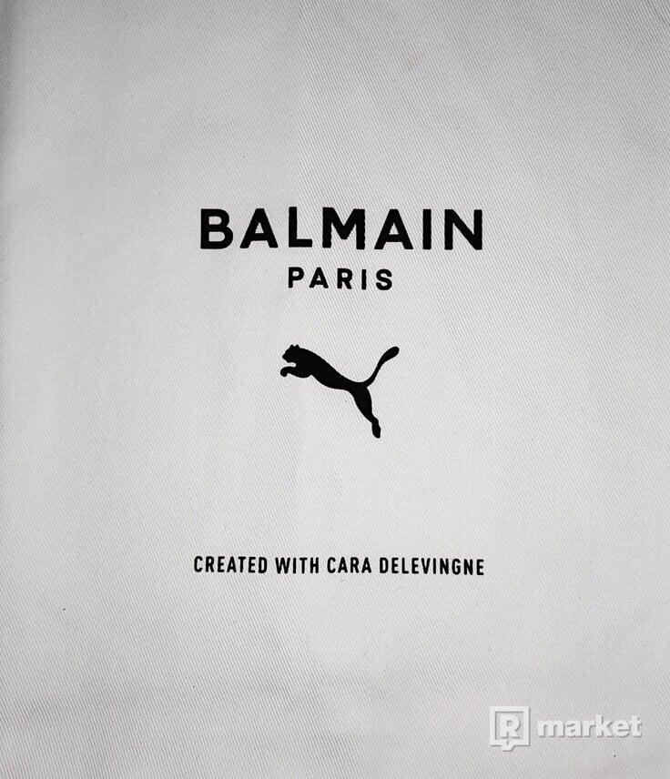 Puma x Balmain Cell Stellar high-top sneakers
