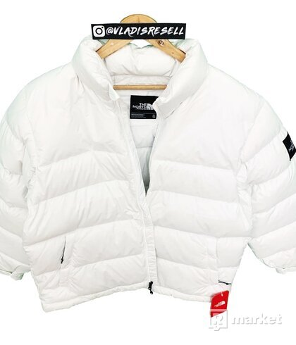 TNF 1992 Nuptse Jacket White