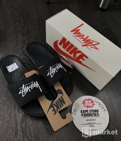 Nike x Stussy slides