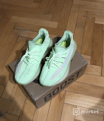 Yeezy boost 350 green glow