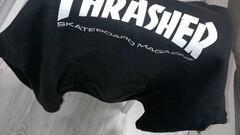 Thrasher hoodie - black