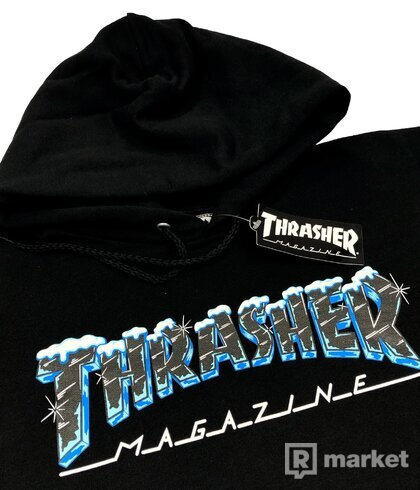 THRASHER Ice Logo hoodie