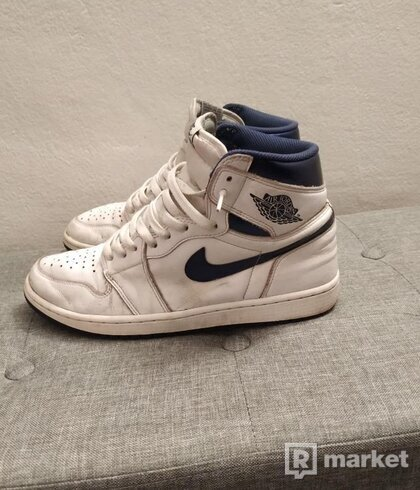 Nike air Jordan 1 high og Metallic Navy