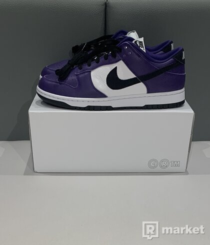 """Nike Dunk Low by You-""""COURT PURPLE"""""""