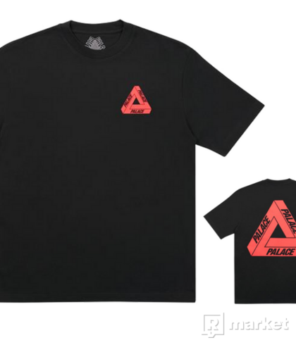 Palace TRI-TO HELP TEE RED