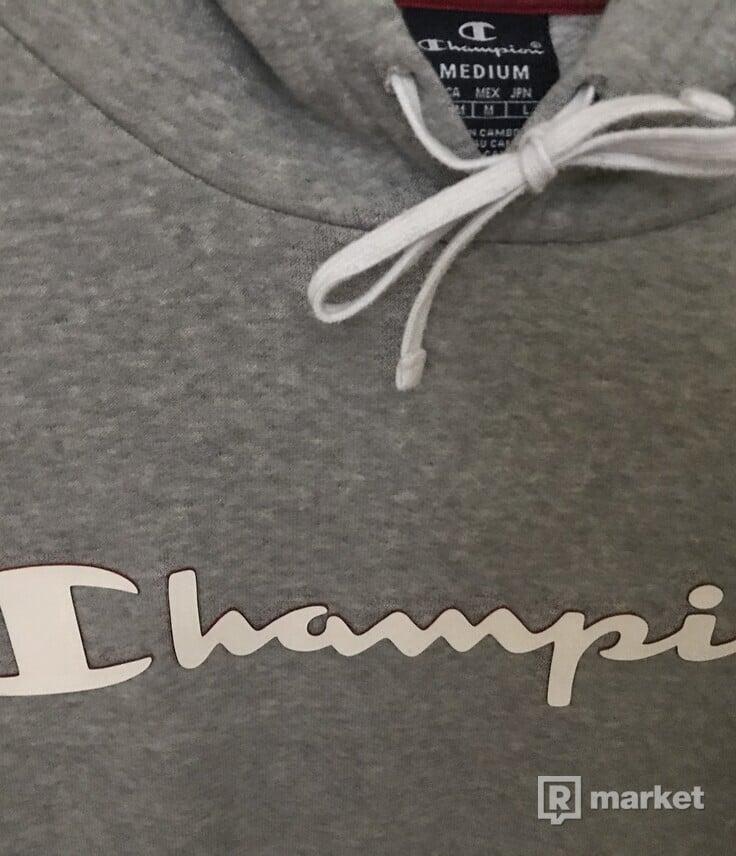 Champion grey hoodie