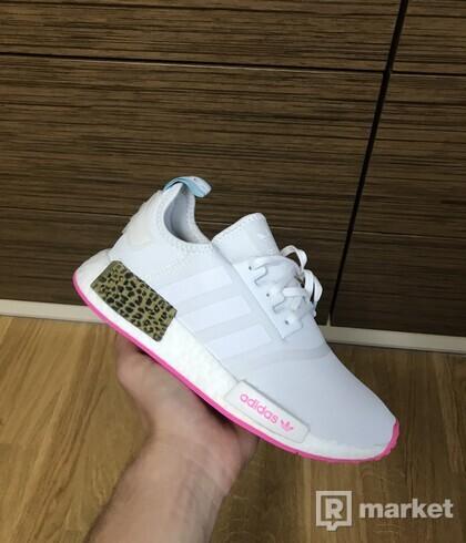 Adidas nmd r1 white/pink